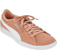 PUMA Suede Lace-Up Sneakers - Vikky Classic - A310170