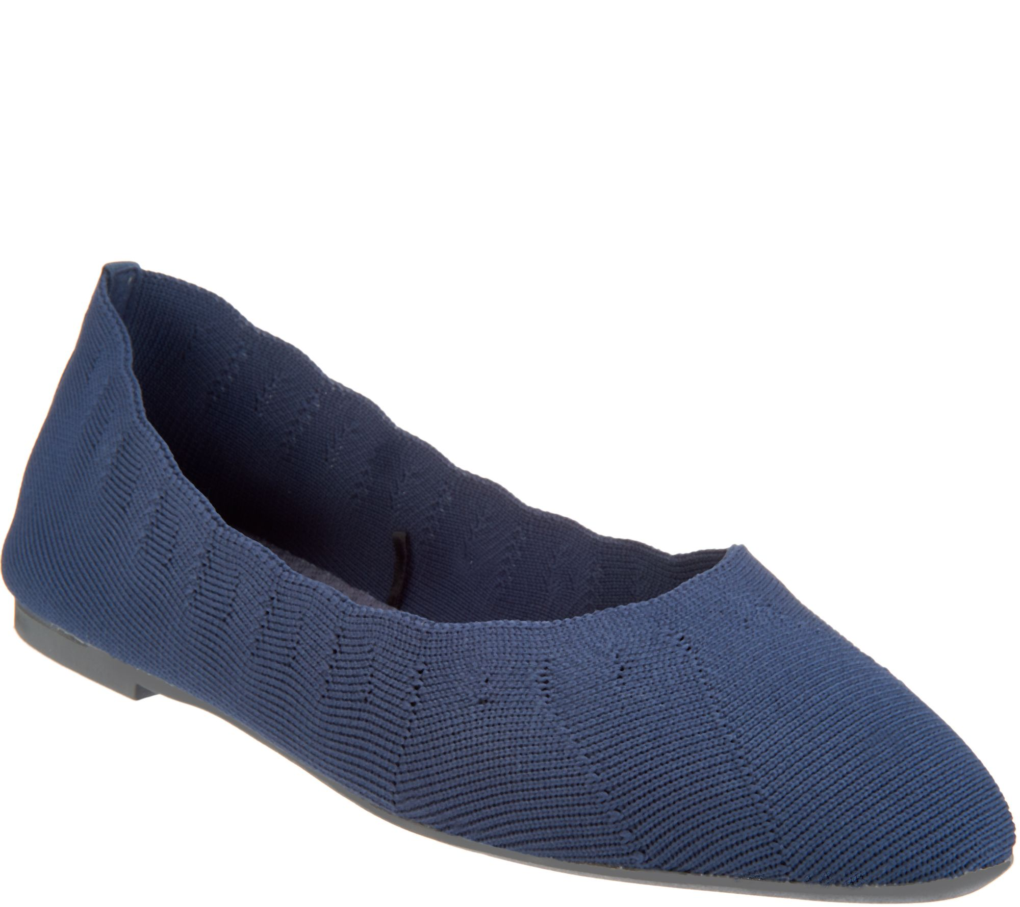 1f6581cd Skechers Engineered Knit Skimmer Flats - Bewitch - Page 1 — QVC.com