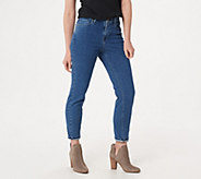 BROOKE SHIELDS Timeless Tall Ankle Jeans- Indigo - A351370