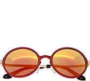 Breed Corvus Red Aluminium Sunglasses w/ Polarized Lenses - A361270