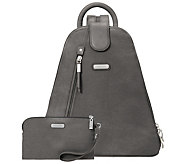 baggallini Metro Backpack with RFID Phone Wristlet - A412870