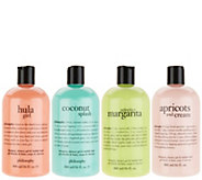 philosophy summer fun favorites 4-piece showergel collection - A413470