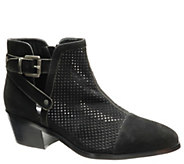 David Tate Nubuck Leather Booties - Prize - A414770