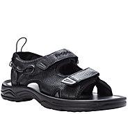Propet Mens Leather Walking Sandals - SurfWalker II - A423770