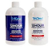 TriOral 12-Hour Fresh Breath Mouth Wash Advanced ClinicalFormula - A219571