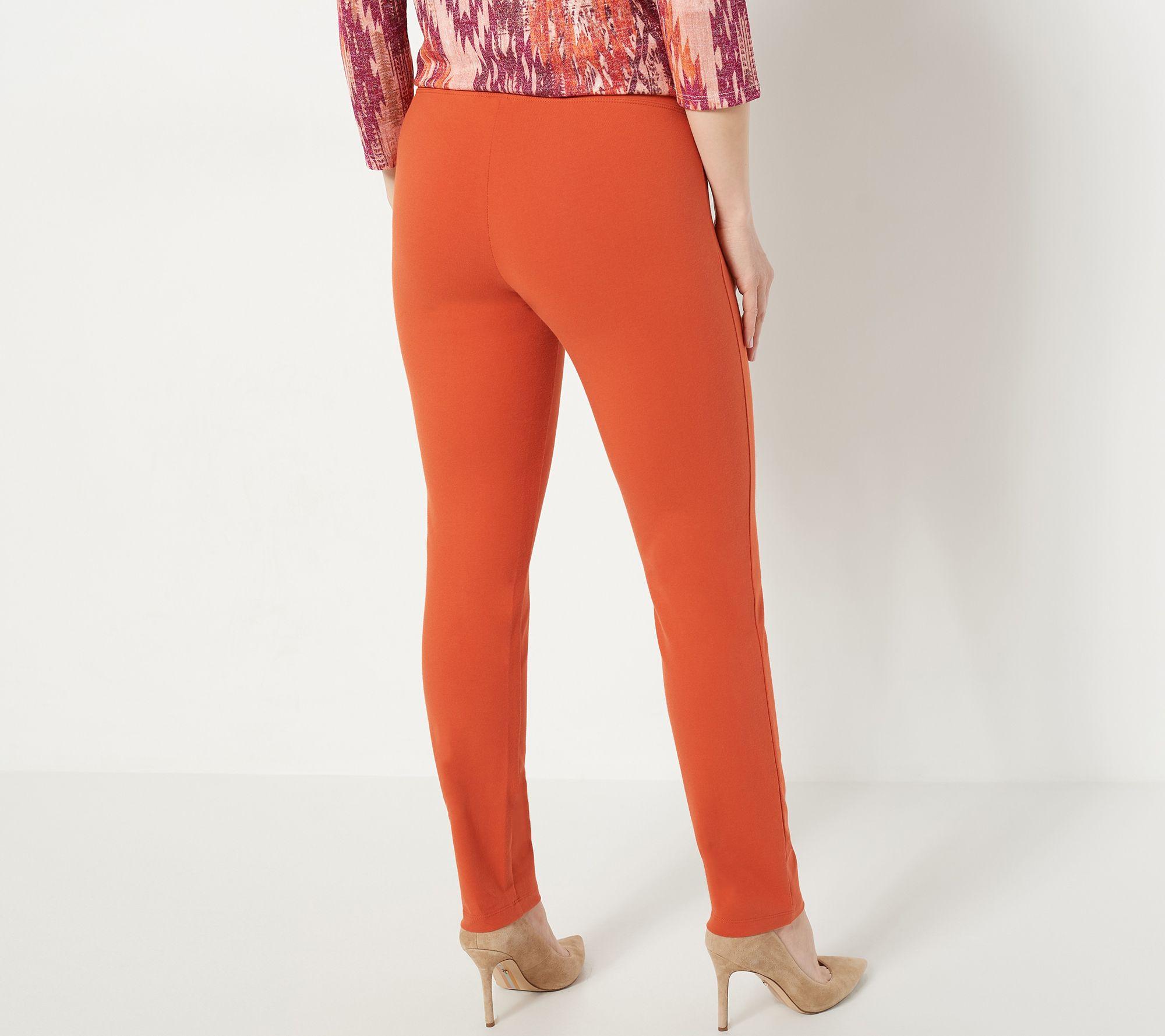 3c7af3cc9 Women with Control Regular Slim Leg Ankle Pants w/ Waist Seams - Page 1 —  QVC.com
