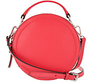 Vince Camuto Leather Circle Crossbody Handbag - Bray - A304471