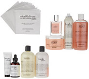 philosophy the ultimate hair, fragrance body & skin 9-piece kit - A307671