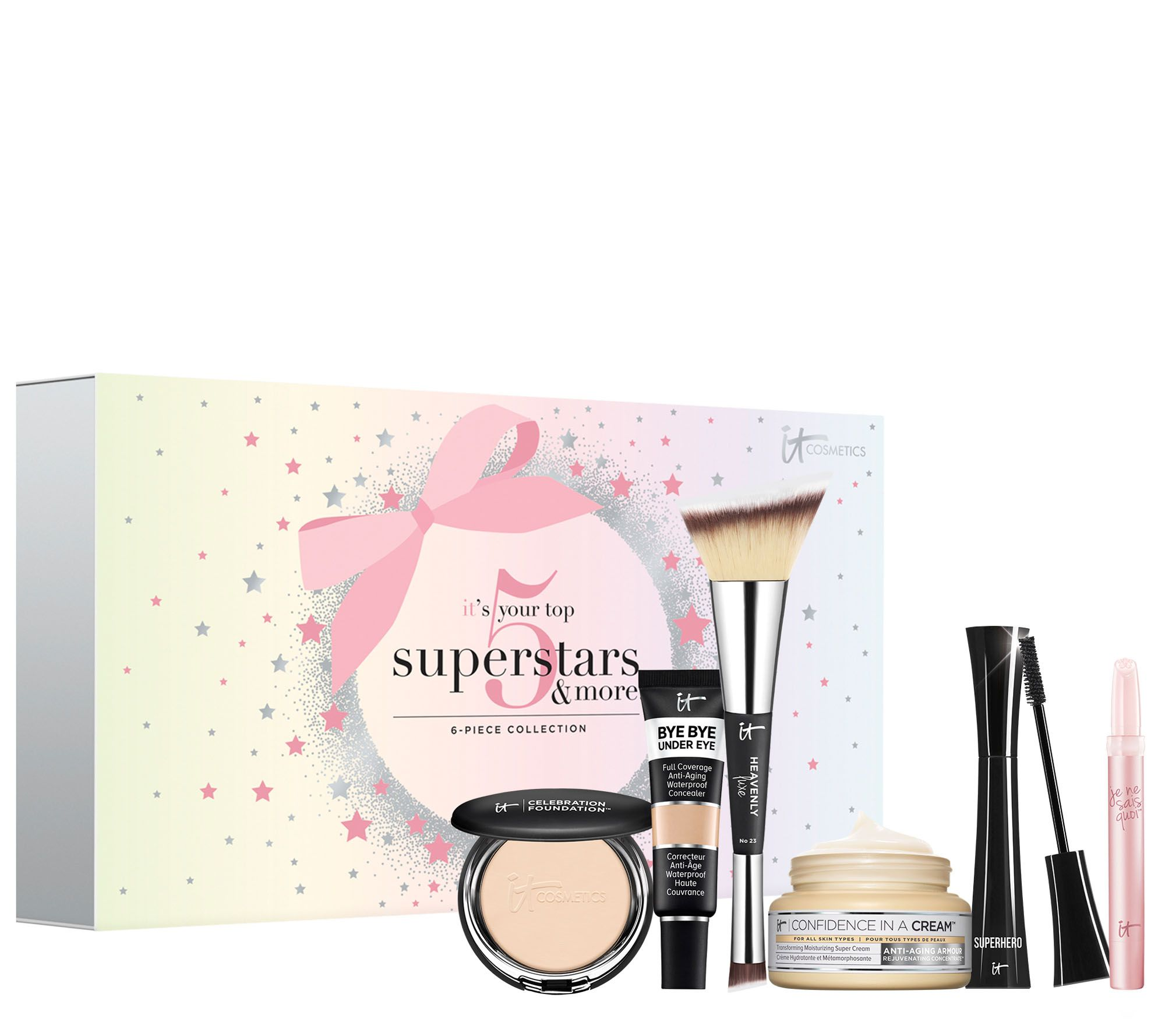 950044e83dc5 IT Cosmetics IT s Your Top 5 Superstars and More! 6-Piece Holiday Set -  Page 1 — QVC.com