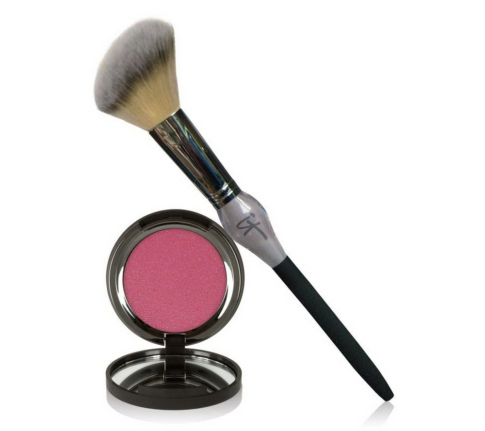 It Cosmetics Vitality Cheek Flush Powder Blush Stain Brush Page