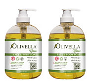 Olivella Liquid Soap Duo with Pump Dispensers - A247972