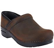 Dansko Professional Leather Clogs in Neutrals - A258072