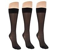 Legacy Sheer Graduation Compression Socks Set of 3 - A307572