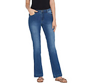 G.I.L.I. Regular Dual Stretch Bootcut Jeans - A310072