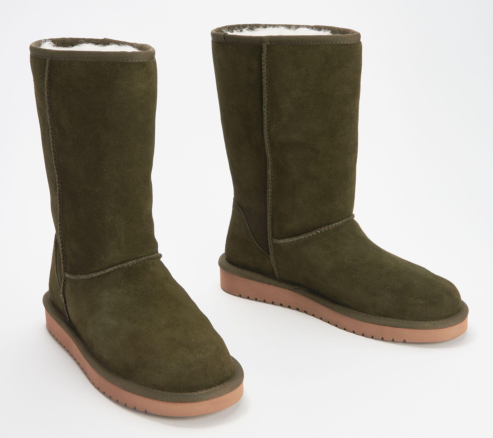 ecdb2804898 Koolaburra by UGG Suede Tall Boots - Koola — QVC.com