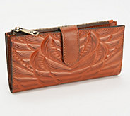 Patricia Nash Nazari Leather Fold Wallet - A376072