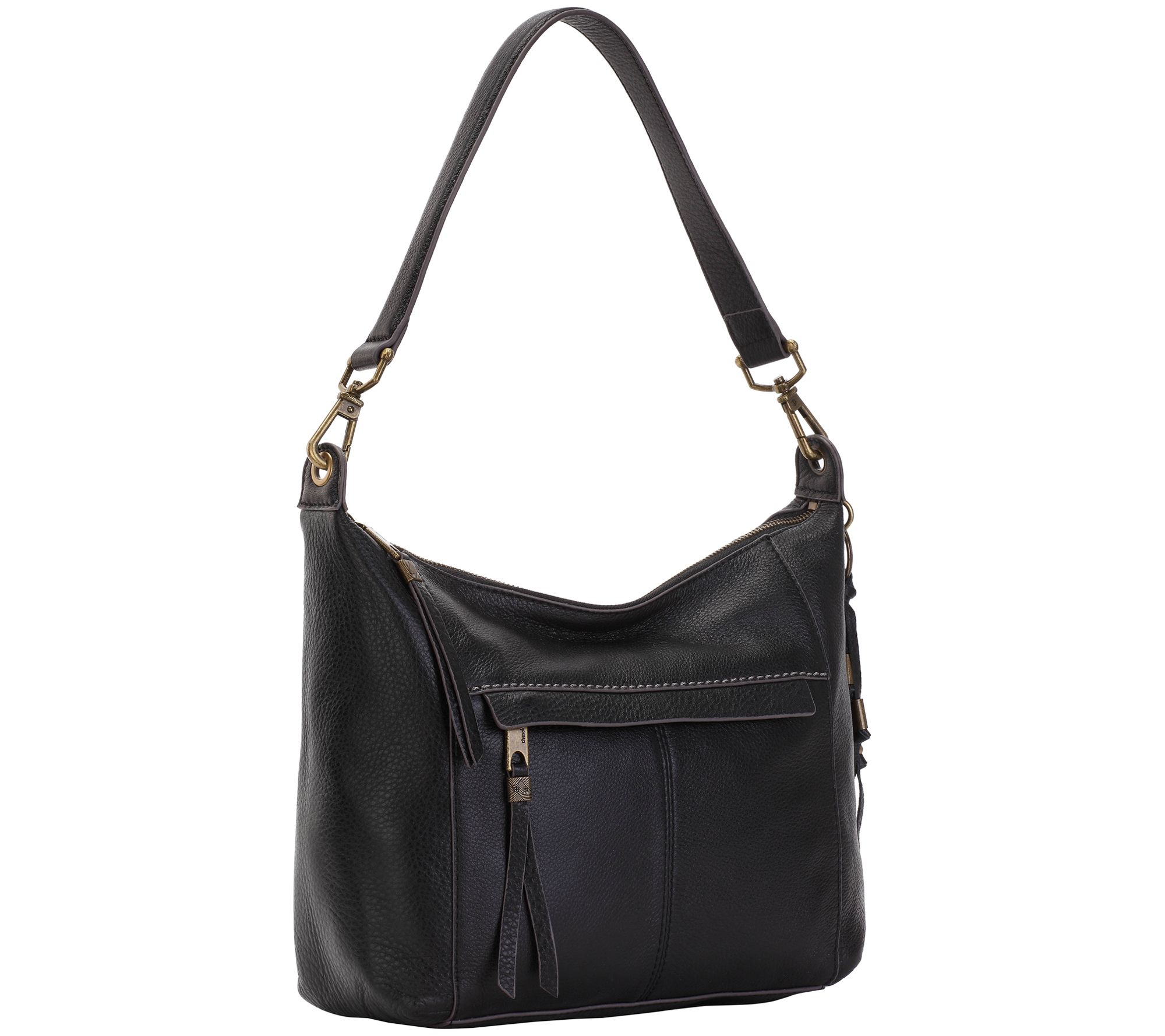 5d2bd542abde The Sak Alameda Leather Hobo Handbag - Page 1 — QVC.com