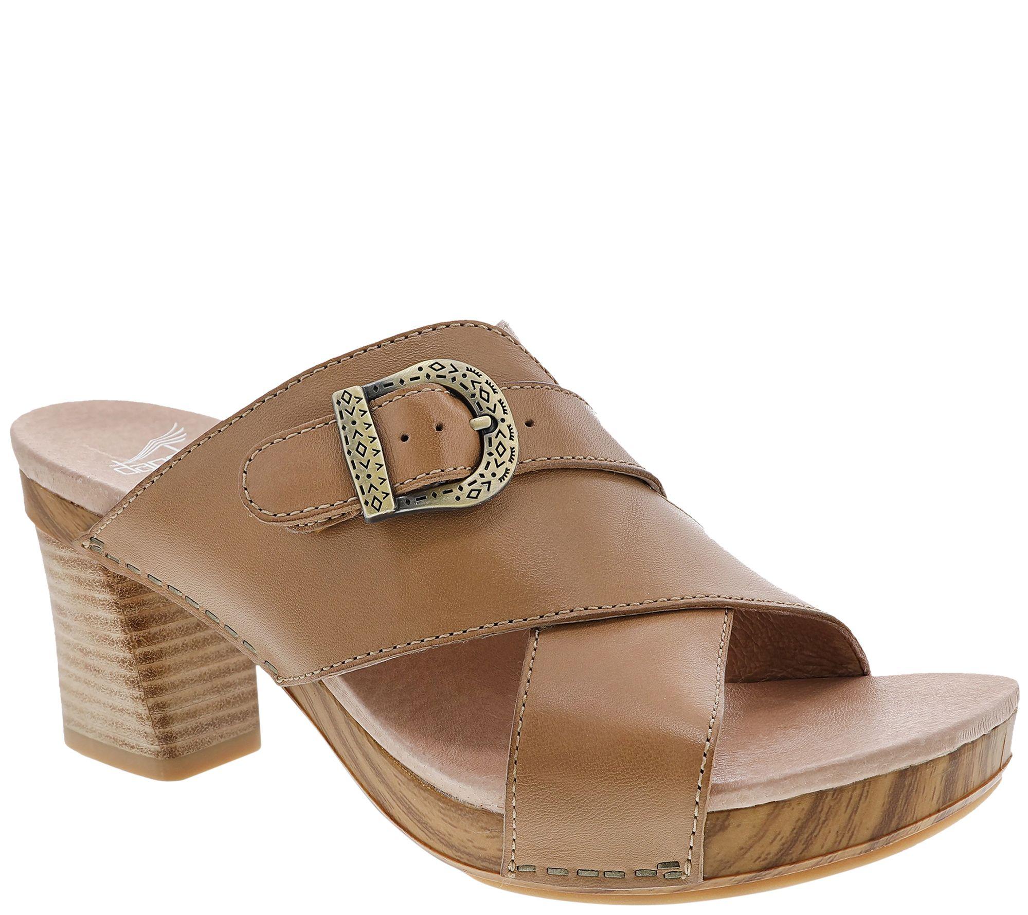 670d004bc724 Dansko Women s Slide Sandals - Amy - Page 1 — QVC.com