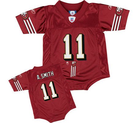 NFL San Francisco 49ers Alex Smith Infant Replica Jersey