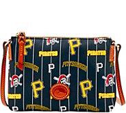 Dooney & Bourke MLB Nylon Pirates Crossbody Pouchette - A281573