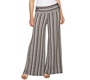 Lisa Rinna Collection Regular Printed Palazzo Pants - A292273