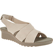 CLOUDSTEPPERS by Clarks Wedge Sandals - Caddell Bright - A302773