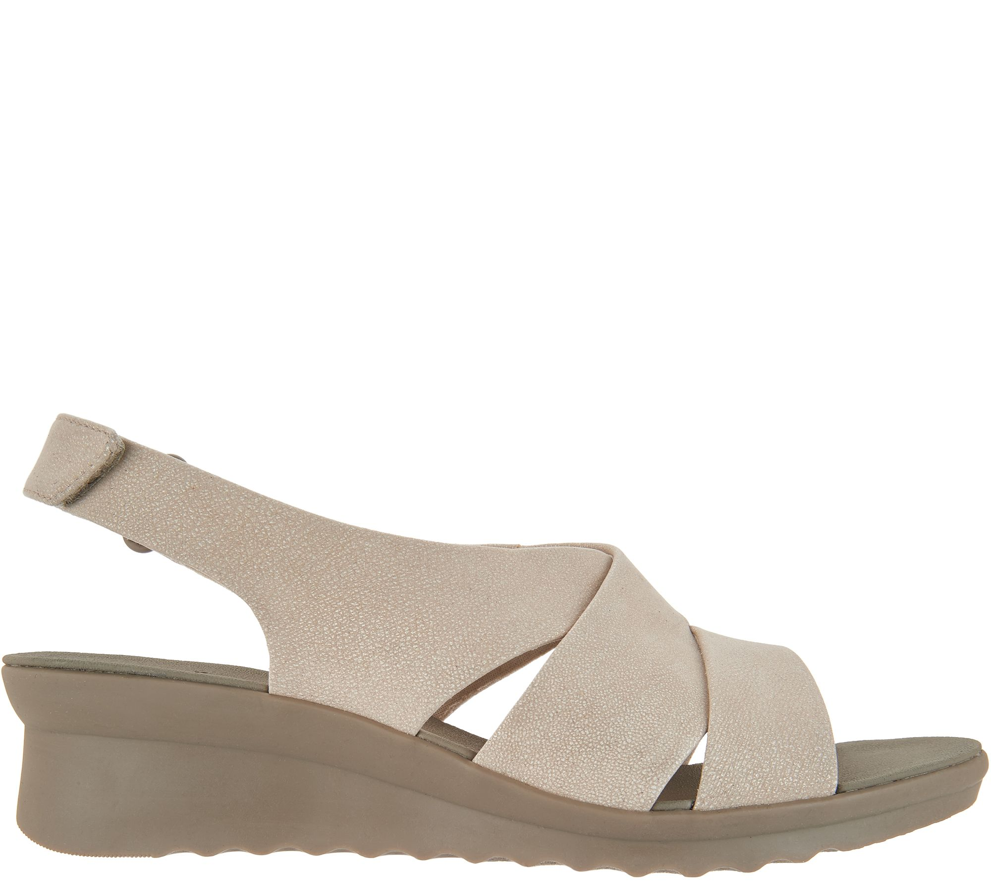 d2f07d3c8e86 CLOUDSTEPPERS by Clarks Wedge Sandals - Caddell Bright - Page 1 — QVC.com