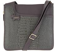 RADLEY London Pocket Croc Embossed Leather Zip-Top Crossbody - A341773