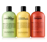 philosophy island favorites shower gel 3-pc set - A448873