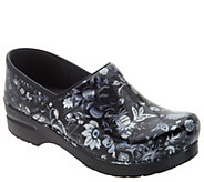 Dansko Professional Leather Clogs in Fashion Colors - A258074