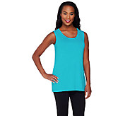 Joan Rivers Jersey Knit Scoop Neck Tank - A262674