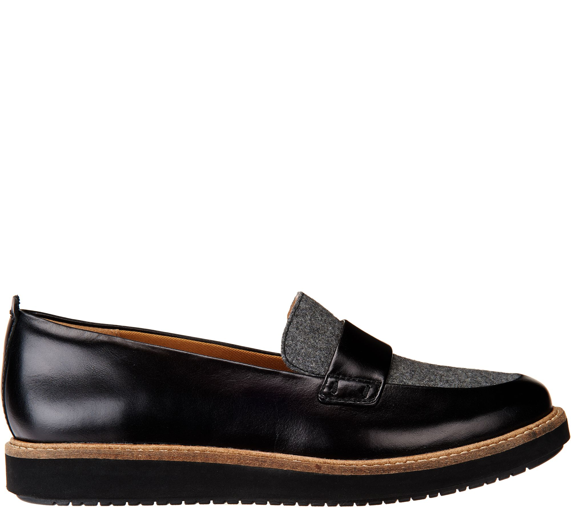 47fb7fe594d Clarks Artisan Leather Loafers - Glick Avalee - Page 1 — QVC.com
