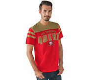 NFL Mens Throwback Short Sleeve Jersey Tee - A282274