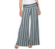 Lisa Rinna Collection Petite Printed Palazzo Pants - A292274