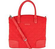 Vera Bradley Microfiber Day Off Satchel Handbag - A296474
