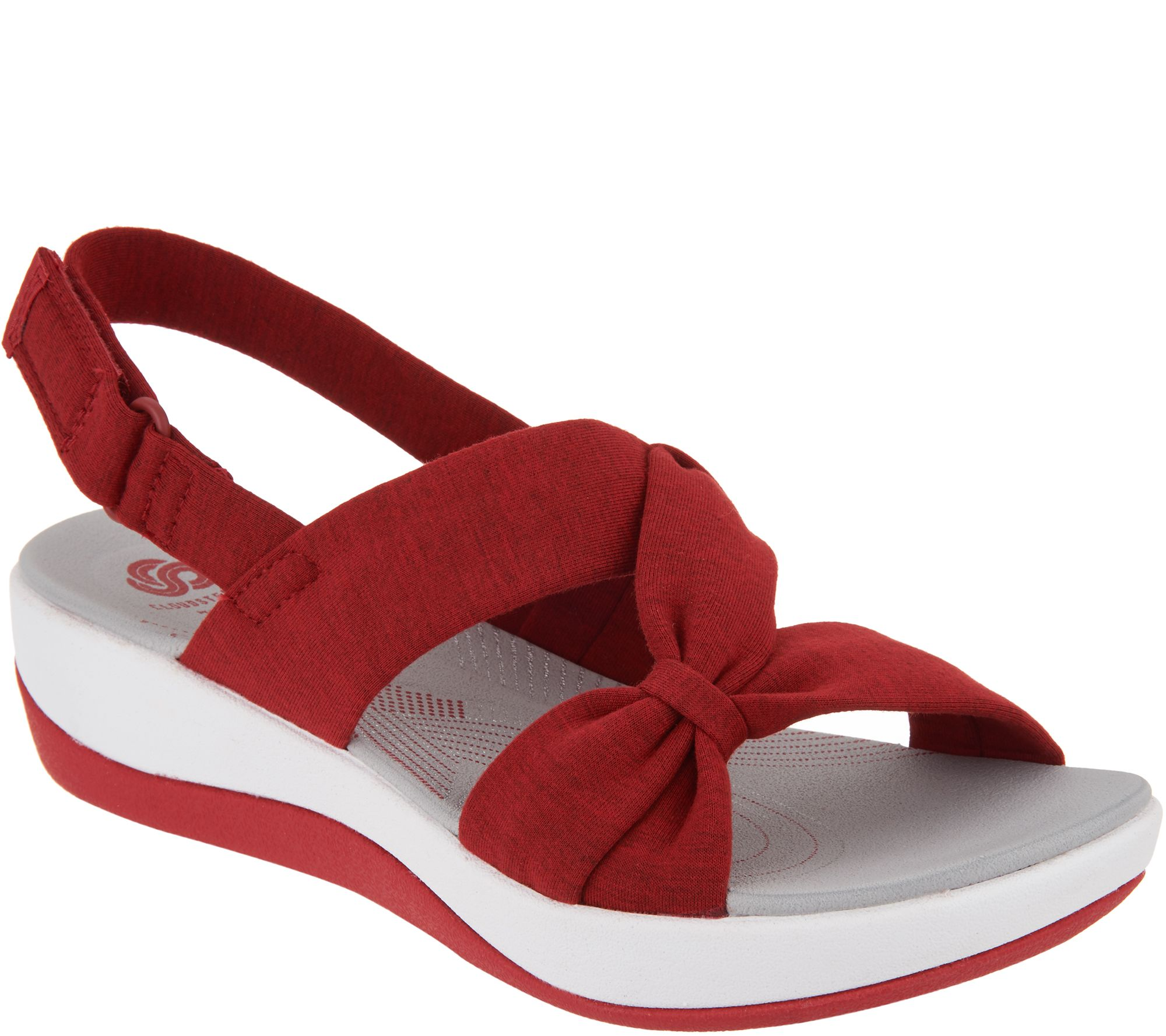 204be2086c7 CLOUDSTEPPERS by Clarks Sport Sandals - Arla Primrose - Page 1 — QVC.com