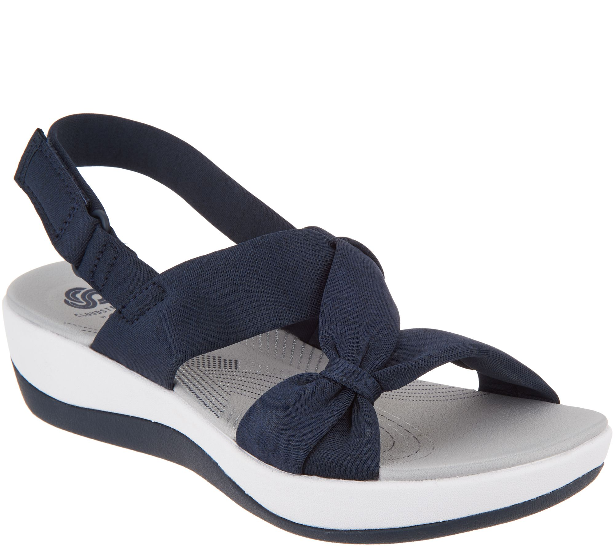ac577f6ed10 CLOUDSTEPPERS by Clarks Sport Sandals - Arla Primrose - Page 1 — QVC.com