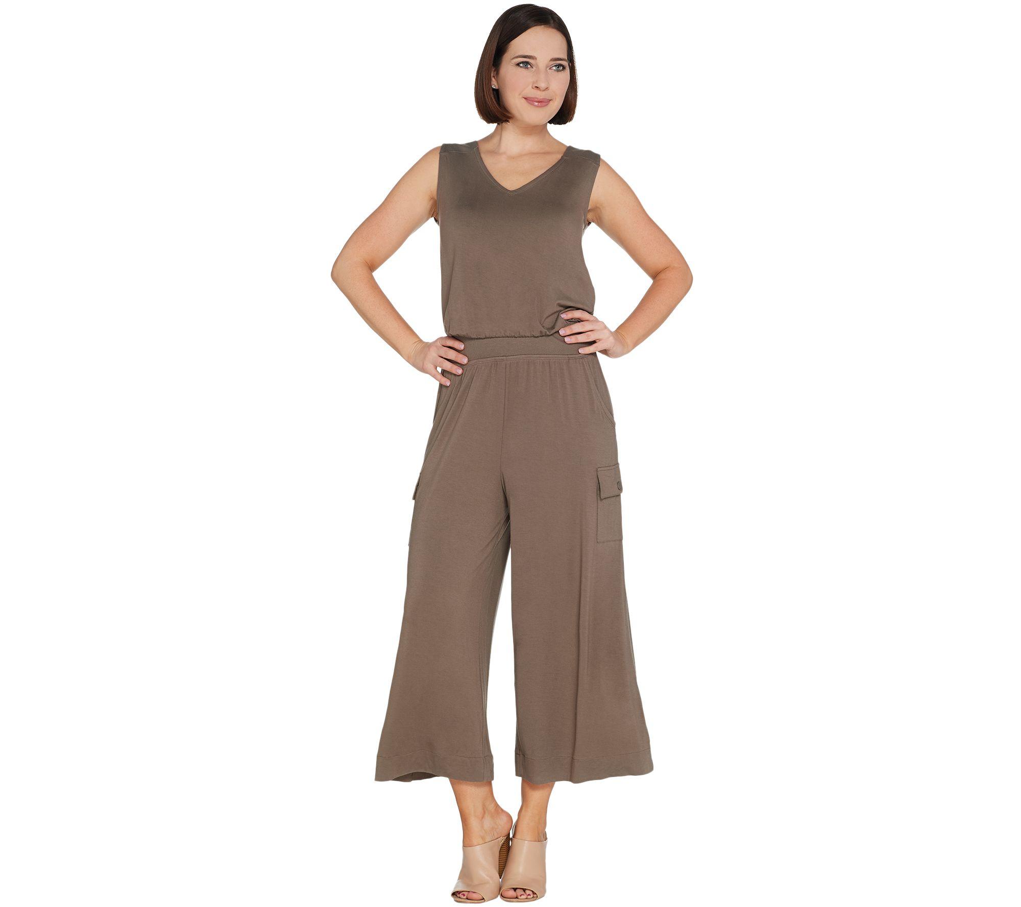 6e1b9e8548ac Lisa Rinna Collection Jumpsuit - Page 1 — QVC.com