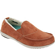 Spenco Orthotic Suede Slip-On Shoes - Cozy - A345374