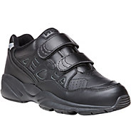 Propet Mens Leather Walking Sneakers - Stability Walker Stra - A358774