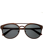 Breed Mensa Brown Titanium Sunglasses w/ Polarized Lenses - A361274