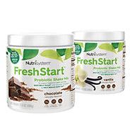 Nutrisystem 28 Days of Chocolate and Vanilla Fresh Start Shakes - A367074
