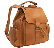 Le Donne Leather Multi-Pocket Backpack - A413074
