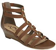 A2 by Aerosoles Strappy Wedge Sandals - Here WeGo - A413574