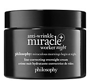 philosophy anti-wrinkle miracle worker  night cream - A422274
