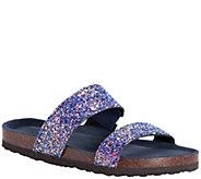 9b20b264c9b5 MUK LUKS Womens Dual-Strap Support Slide Sandals - Deedee - A426474