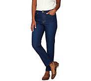 Isaac Mizrahi Live! TRUE DENIM Regular Ankle Jeans - A274475