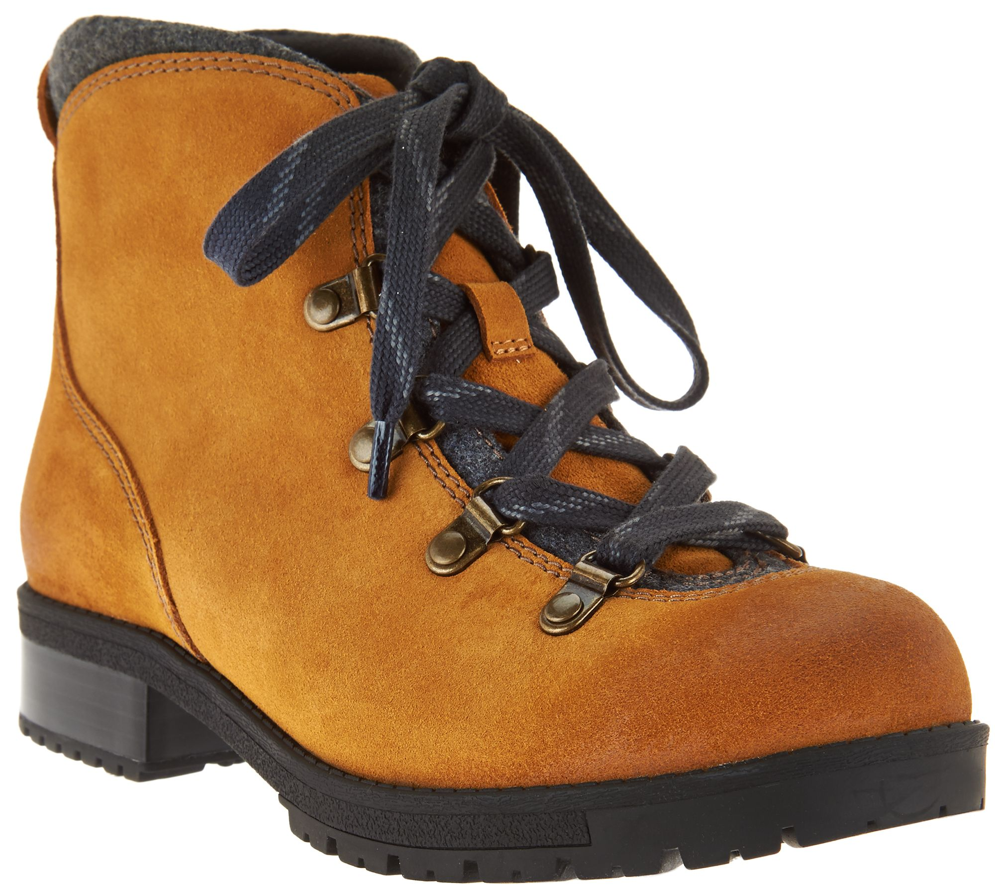 Clarks Leather Water Resistant Hiking Boots Faralyn Alpha —