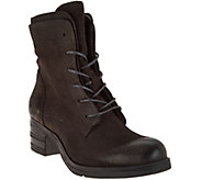 Miz Mooz Leather Lace-up Boots - Sloanne - A282875