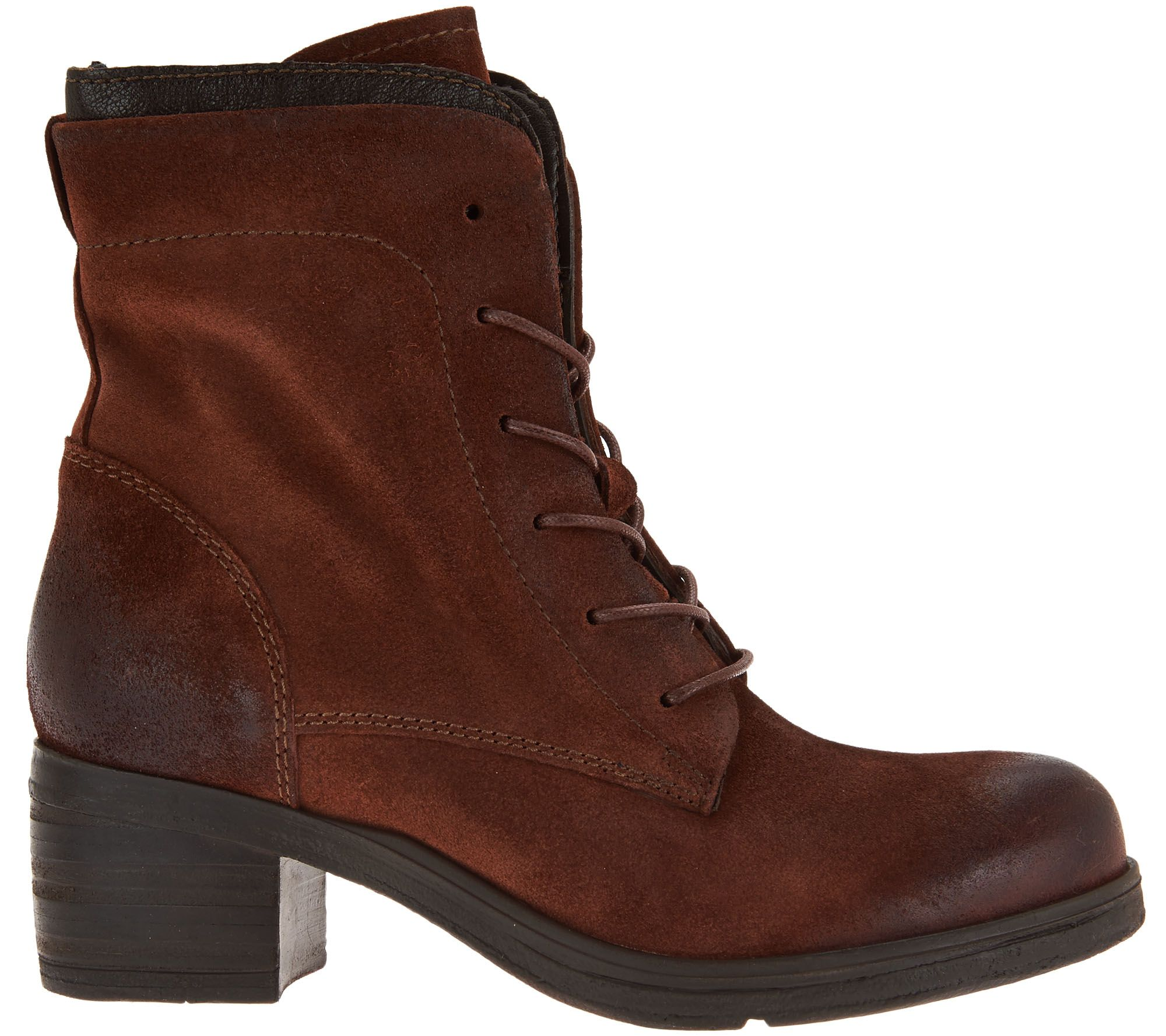 Miz Mooz Leather Lace-up Boots - Sloanne classic cheap online cheap in China buy cheap 2014 outlet best seller buy cheap visit JQzmd